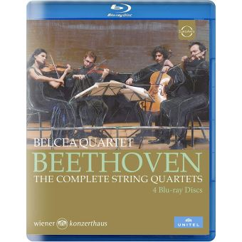 Beethoven - The Complete String Quartets - Blu-Ray