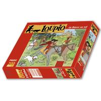 Puzzle Loupio, la chase au vol