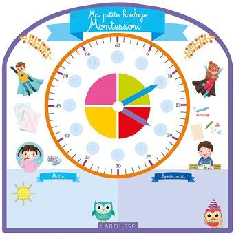 Ma petite horloge Montessori