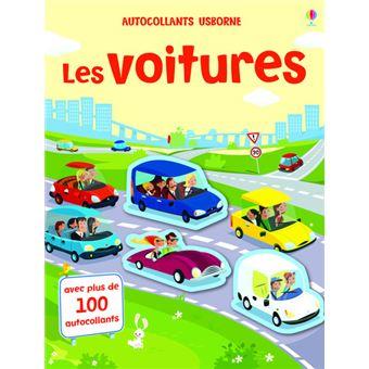 Les voitures - Autocollants Usborne