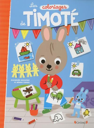 Timoté -  : Les coloriages de Timoté