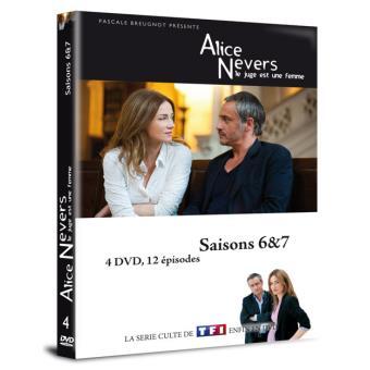 Alice Nevers : le juge est une femmeAlice Nevers : le juge est une femme  Saisons 6 à 7 Coffret DVD