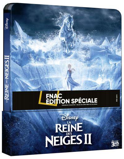 [Débats / BD] Les Blu-ray Disney en Steelbook - Page 14 La-Reine-des-neiges-2-Steelbook-Edition-Speciale-Fnac-Blu-ray-3D