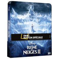 La Reine des Neiges 2 Steelbook Edition spéciale Fnac Blu-ray 3D