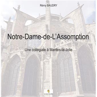 Notre-Dame-de-L'assomption - Une collégiale à Mantes-la-Jolie