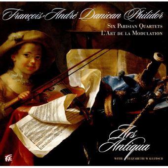 Philidor : Six quatuors parisiens L'art de la modulation
