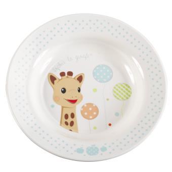 coffret repas vulli sophie la girafe version ballons assiette achat prix fnac. Black Bedroom Furniture Sets. Home Design Ideas