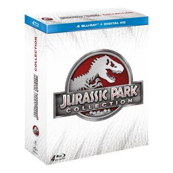 Jurassic ParkCOFFRET JURASISIC PARK-FR-4BLURAY 3D