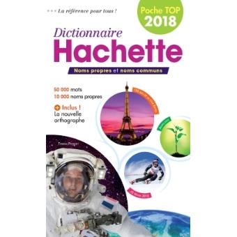 Couverture de Dictionnaire Hachette Encyclopédique de poche