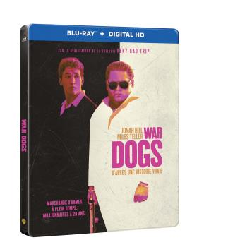 War Dogs Steelbook Blu-ray