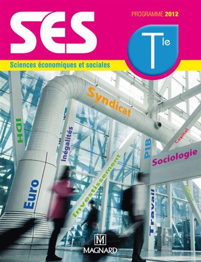 Scienceséconomiques et sociales Term