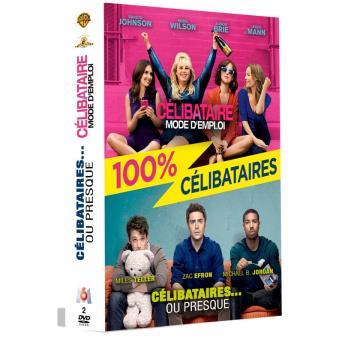 Coffret 100% célibataires 2 films DVD