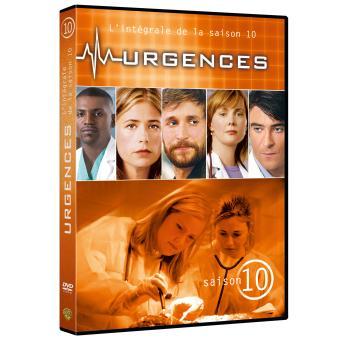UrgencesUrgences Coffret intégral de la Saison 10 - DVD