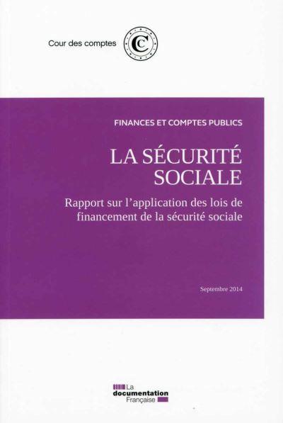 La sécurtie sociale, septembre 2014