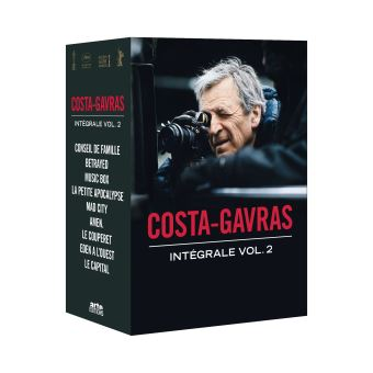Coffret Costa-Gavras Volume 2 DVD