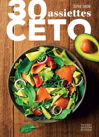30 assiettes céto - 9782365493420 - 8,99 €