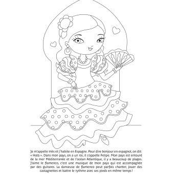 Mes Tableaux à Colorier Et à Pailleter Minimiki Princesses Du