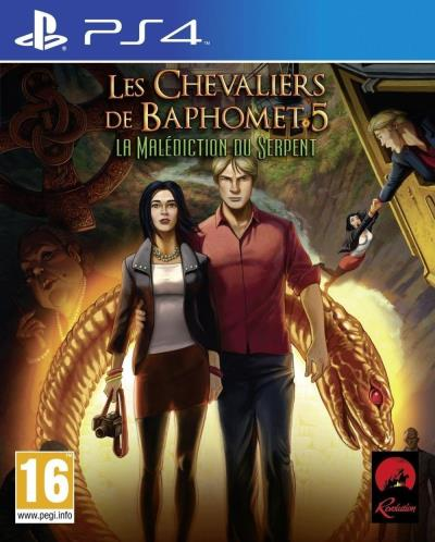 Les Chevaliers de Baphomet 5 : La Malédiction du Serpent PS4