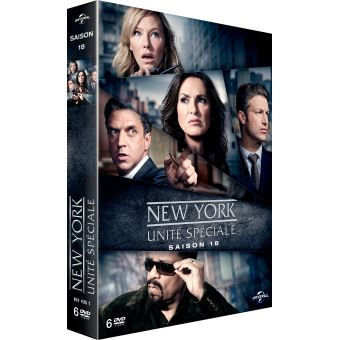 New York Unité SpécialeNew York, unité spéciale Saison 18 DVD