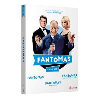 FantômasCoffret Fantômas DVD