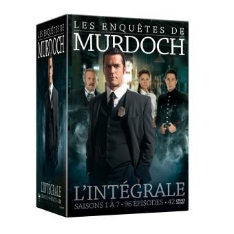 Les Enquêtes de MurdochCoffret Les Enquêtes de Murdoch Saisons 1 à 7 DVD