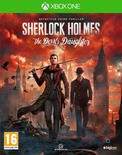 Sherlock Holmes The Devil's Daughter Xbox One
