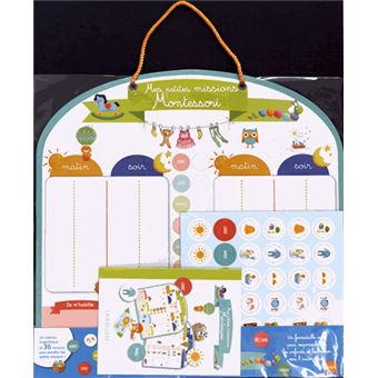 Mes petites missions Montessori
