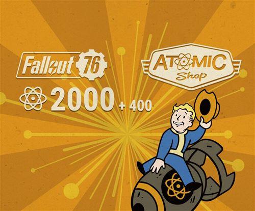 Code de téléchargement Fallout 76 2000 + 400 Atoms Bonus PS4