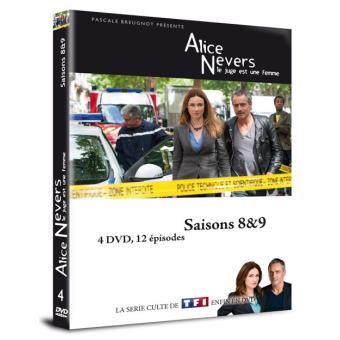 Alice Nevers : le juge est une femmeAlice Nevers : le juge est une femme Saisons 8 et 9 Coffret DVD