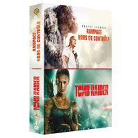 Coffret Rampage Tomb Raider DVD