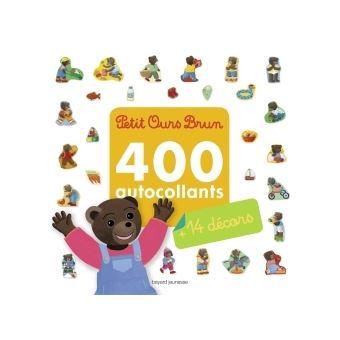 Petit Ours BrunMon grand livre d'autocollants de Petit Ours Brun - 400 autocollants + 14 décors