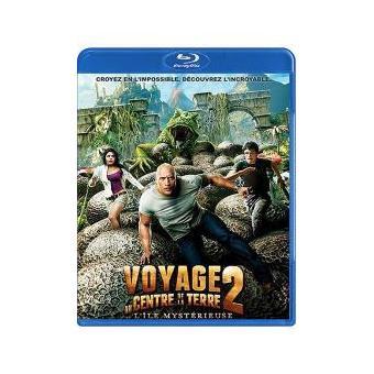 Voyage au centre de la Terre 2 L'île mystérieuse Blu-ray