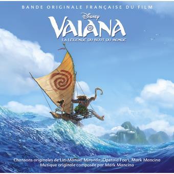 Vaiana Mark Mancina Lin Manuel Miranda Cd Album Achat Prix