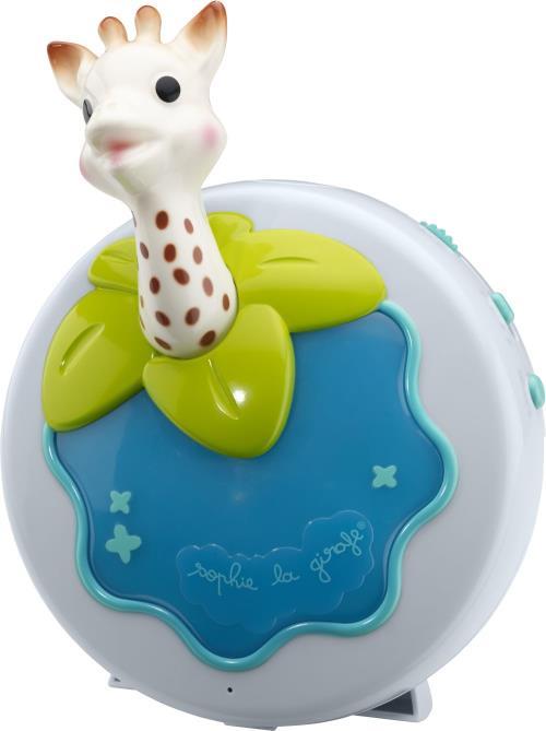 Une veilleuse multifonction à l´effigie de Sophie la girafe pour accompagner bébé au moment difficile du dodo ! La veilleuse Sophie la girafe évolue avec bébé et permet différentes utilisations pour s´adapter au mieux à ses besoins. Fonctions lumière & mu