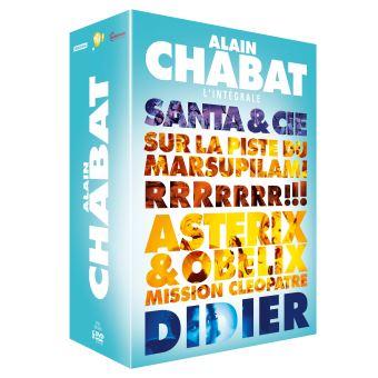 Coffret Alain Chabat 5 Films DVD