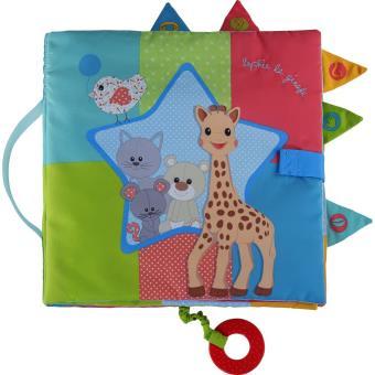 Livre Tissu Sensitive Book Sophie La Girafe Vulli