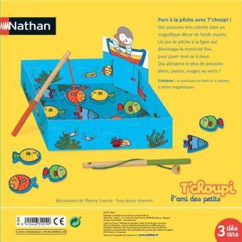 Ma pêche à la ligne T'Choupi Nathan Jouet à manipuler