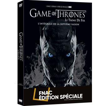 Game Of Thrones, Le trône de ferGame of Thrones Saison 7 Edition Limitée Spéciale Fnac DVD