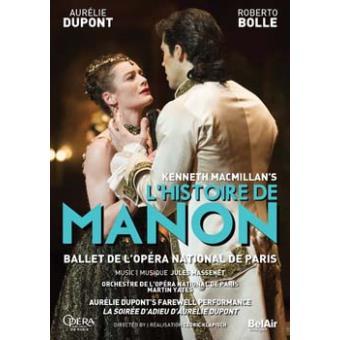 HISTOIRE DE MANON/DVD