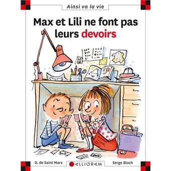 Max et LiliMax et Lili ne font pas leurs devoirs