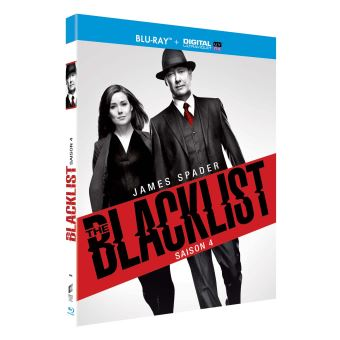 The BlacklistThe Blacklist Saison 4 Blu-ray
