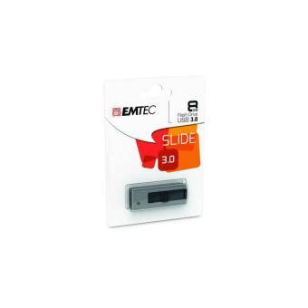 Clé USB 3.0 Emtec B250 8 Go Gris