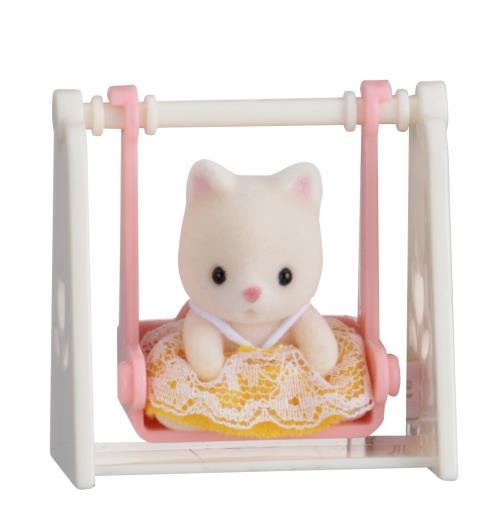 Ce produit appartient à la collection Les valisettes bébés Sylvanian de la marque Sylvanian families.