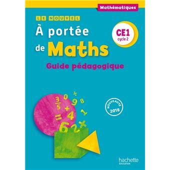 Le Nouvel A portée de maths CE1 - Guide pédagogique