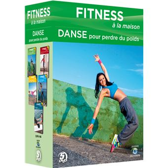 fitness la maison coffret fitness la maison 1 danse pour perdre du poids dvd dvd zone 2. Black Bedroom Furniture Sets. Home Design Ideas