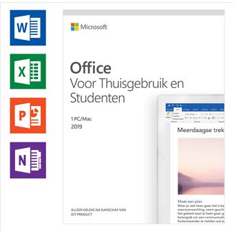 Software Microsoft Office 2019 Home & Student NL