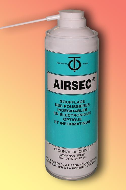 Aérosol Airsec Bombe à air 650 ml
