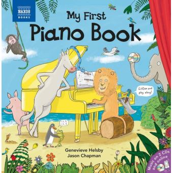 MY FIRST PIANO MUSIC BOOK/CD+BOOK