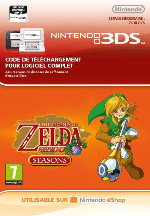 Code de téléchargement The Legend of Zelda Oracle of Seasons Nintendo 3DS