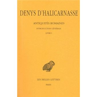 Antiquites Romaines Livre 1 Volume 1 Broche Denys D